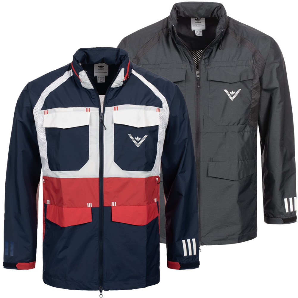 Details about Adidas Originals x White Mountaineering Field Windbreaker Jacket Windbreaker New