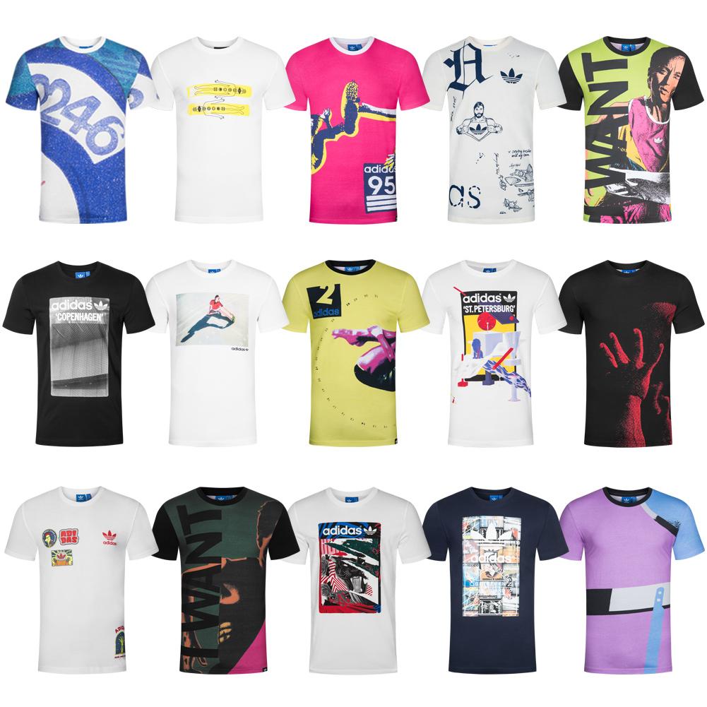 Details about Adidas Originals Men's T Shirt Shirt Tee S M L XL XXL Torsion Performance NEW show original title
