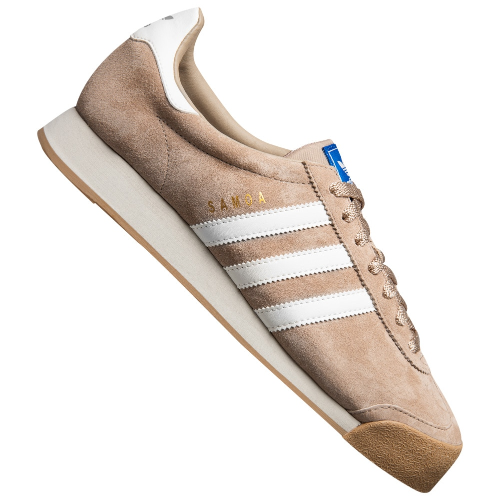 Adidas Originals Samoa Vintage 80er 80er 80er Retro Mode Straßen Turn Schuhe Sneaker neu 7fd598