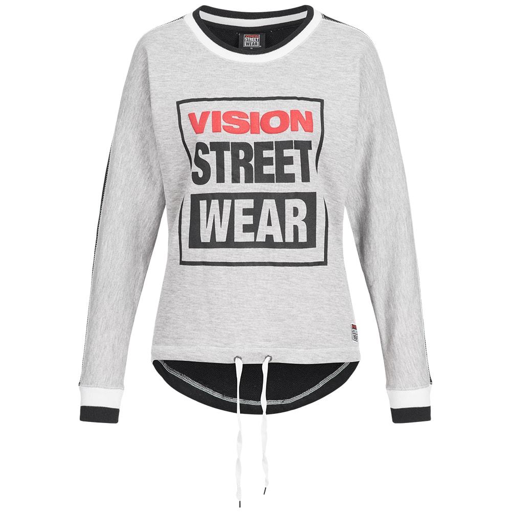 VISION-Street-Wear-Da-Donna-Felpe-Giacca-Pullover-Felpa-Sweater-S-M-L-XL-Nuovo