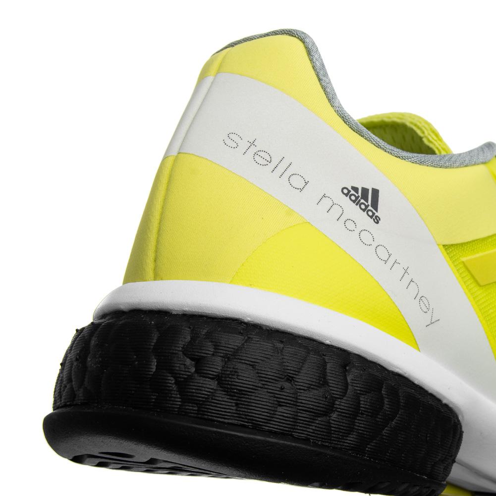 Details zu adidas x Stella McCartney Barricade BOOST Damen Tennisschuhe gelb CM7804 neu