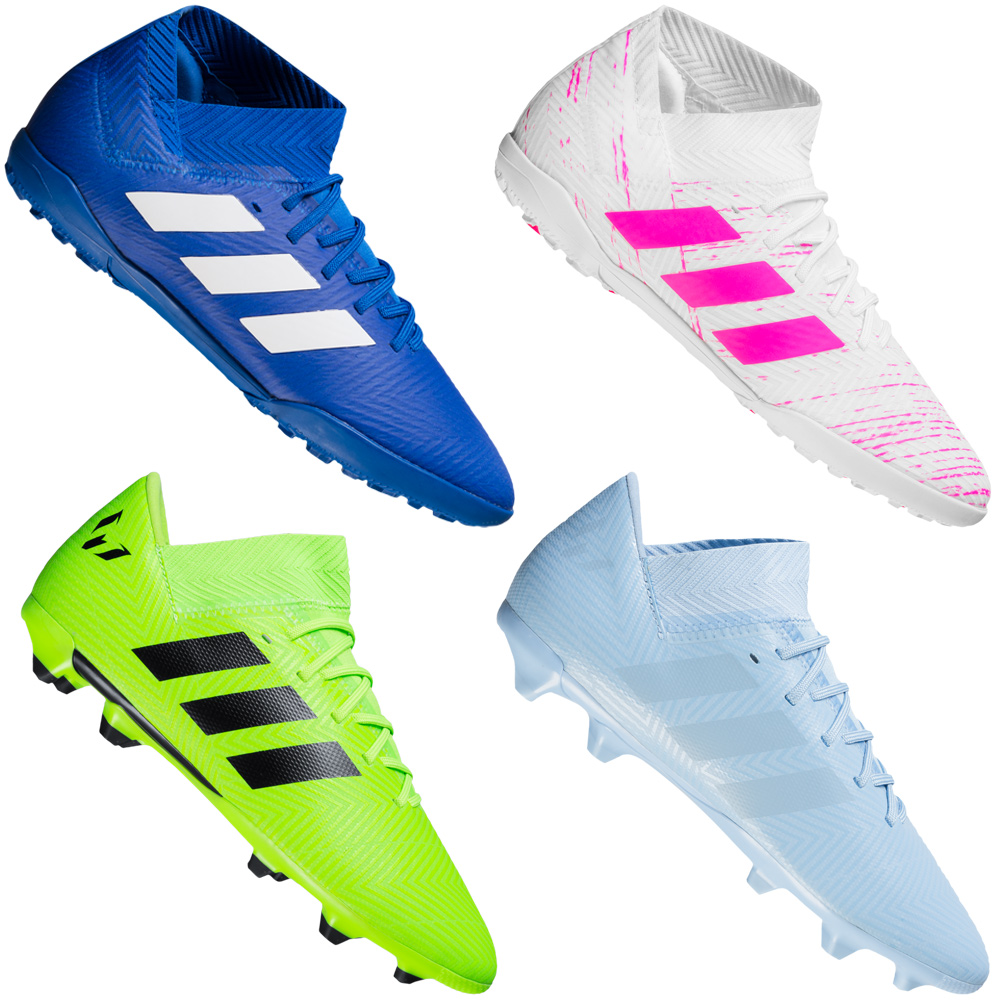 adidas Kinder Nemeziz 18.3 FG Fußballschuhe Schnürung Training Nockenschuhe