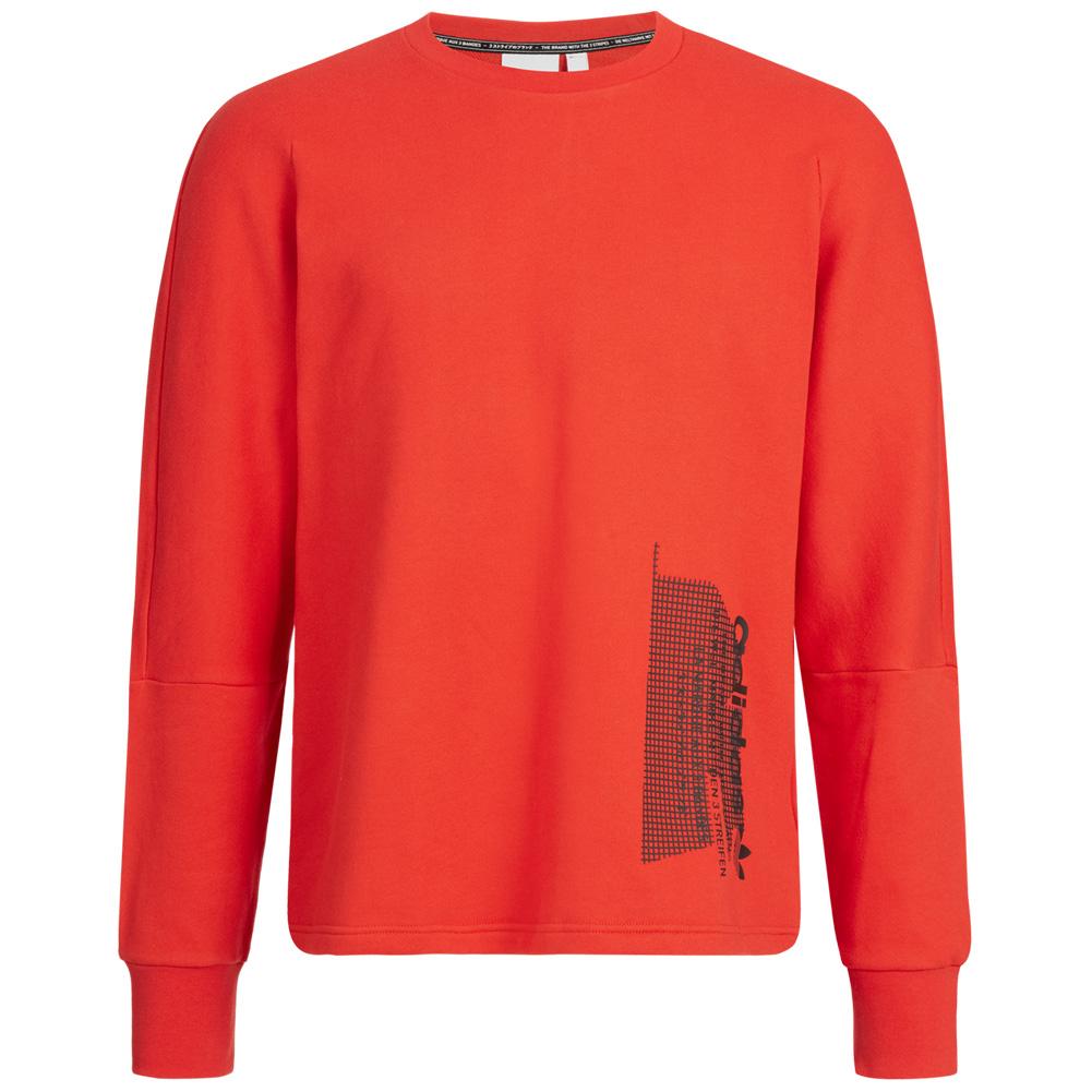 Details zu adidas Originals NMD Herren Sweatshirt Pullover Freizeit Sweater DH2253 rot neu