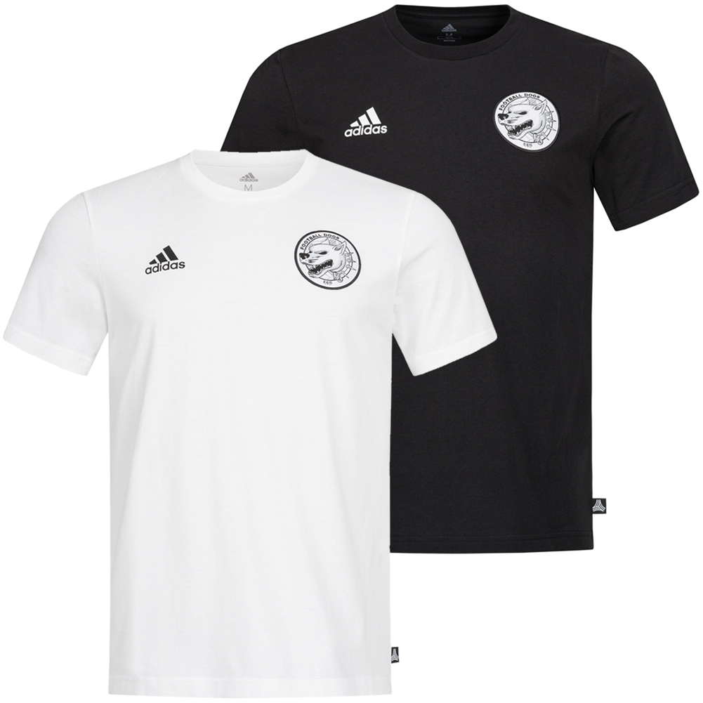 Details about Adidas Tango Football Dogs Mens Shirt Casual Sports Tee Fitness T Shirt New show original title