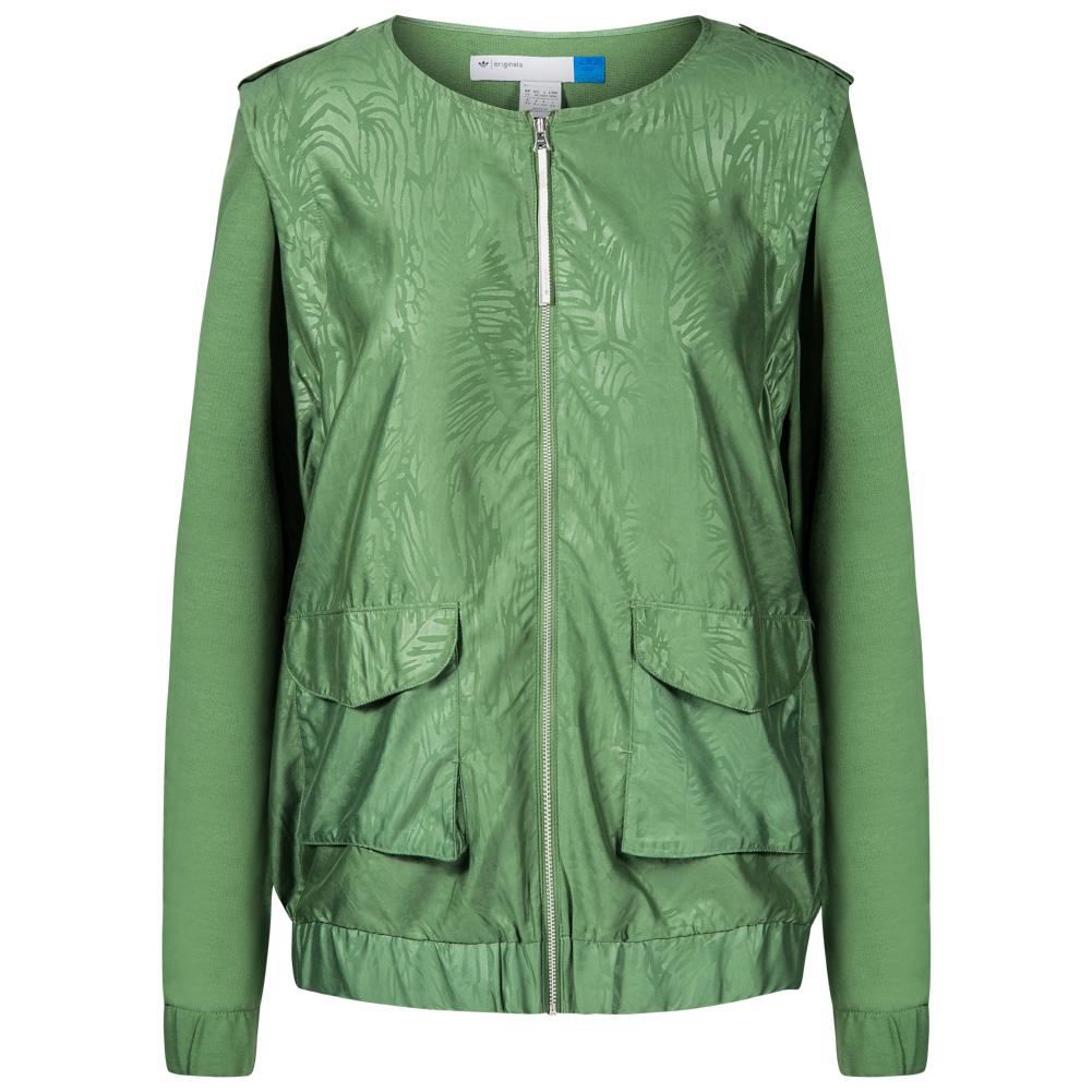 Adidas Originals Clover Woven Jacket Damen 2 In 1 Jacke F50333 Gr