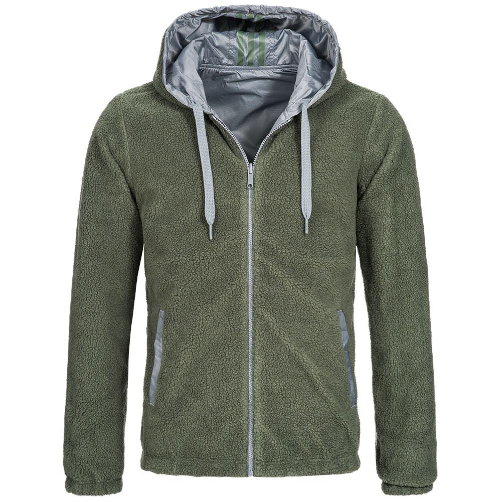 adidas NEO Reversible Sherpa Jacket Herren Wende Jacke Freizeit ... dc7d981e9a