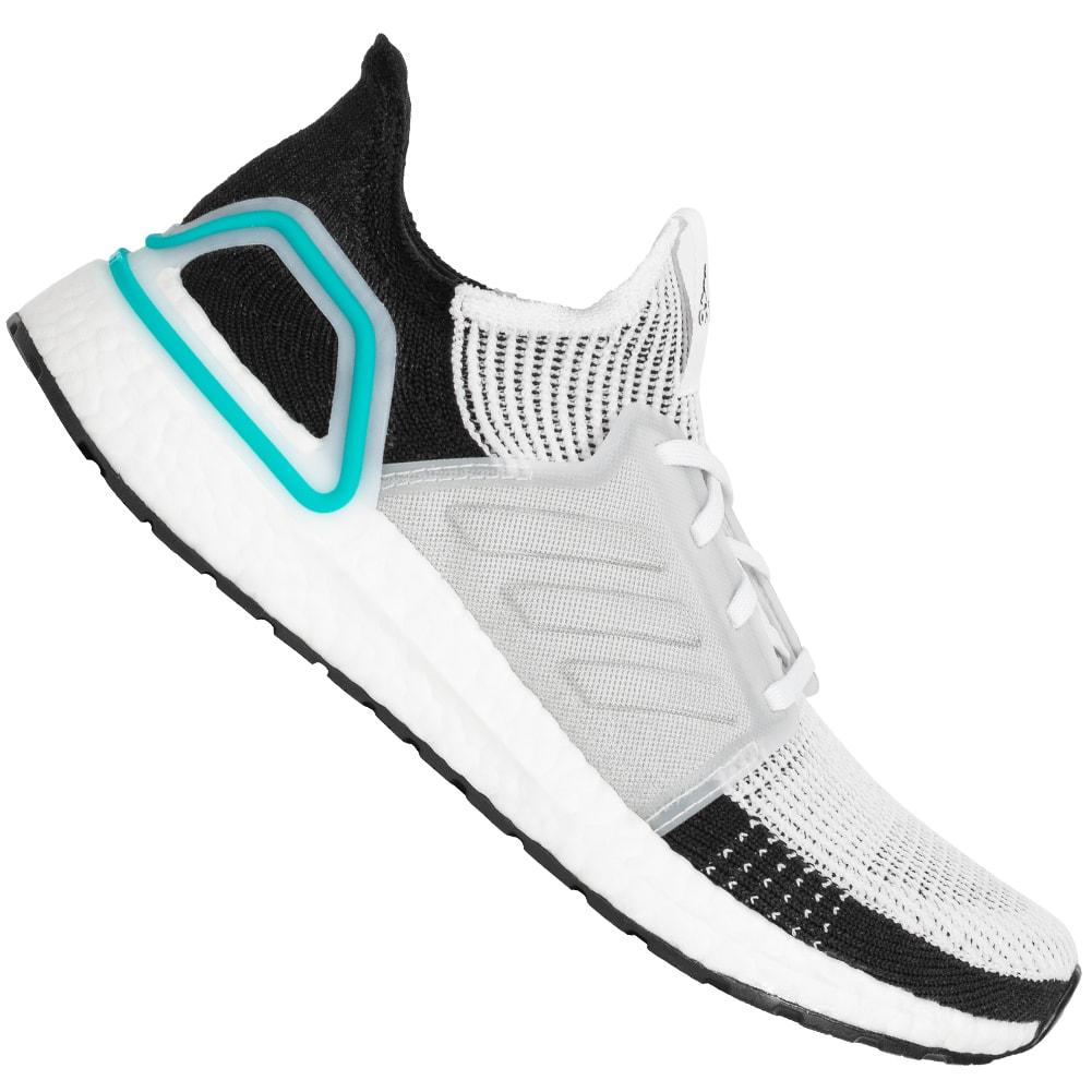 Details zu adidas UltraBOOST Primeknit 19 Herren Fitness Sneaker Laufschuh G54012 weiß neu