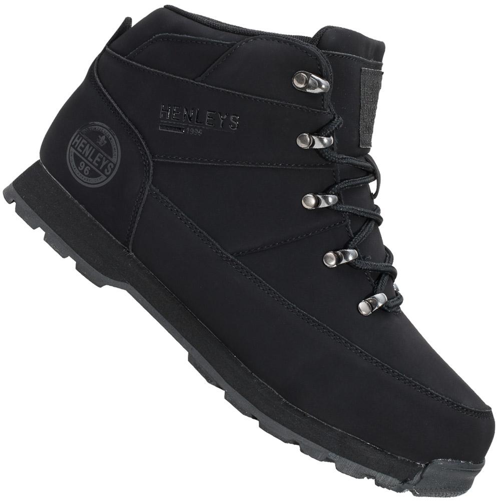 HENLEYS-Oakland-Boot-Herren-Winterschuhe-Outdoor-Boots-Schuhe-Winter-Shoes-neu