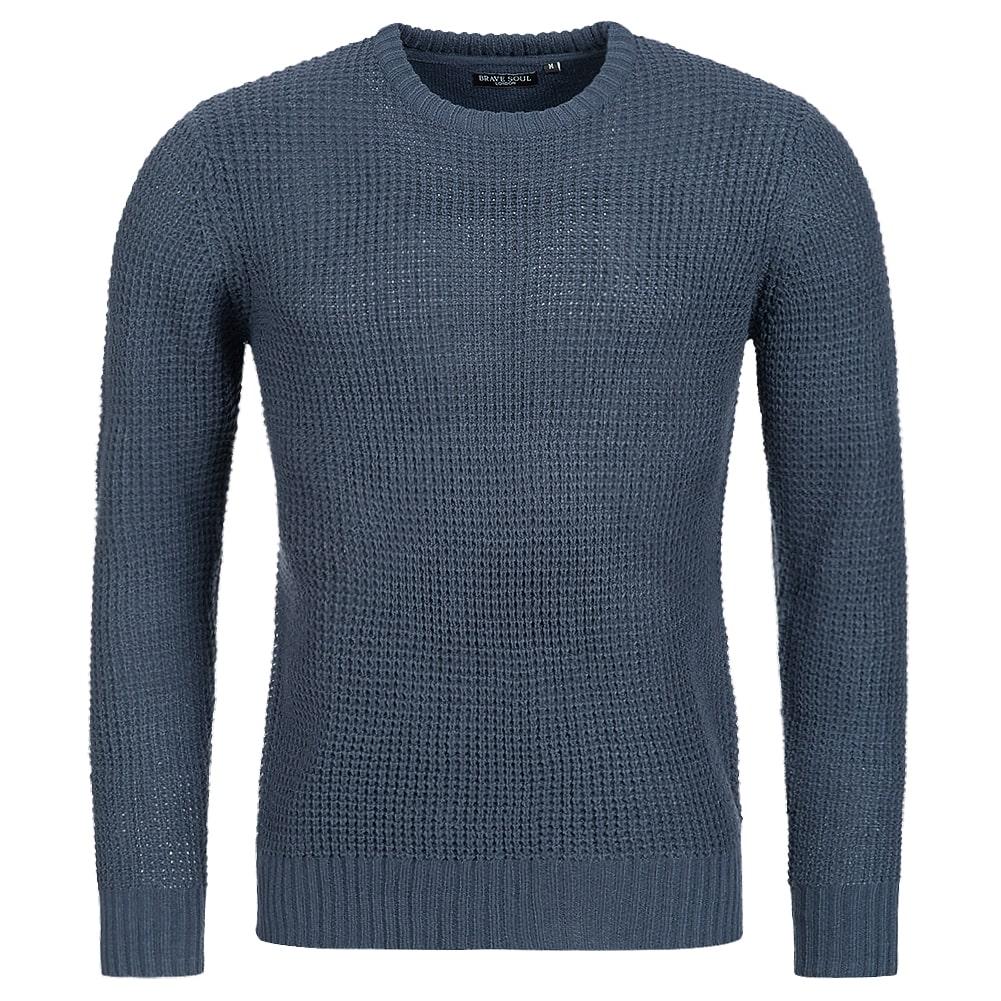 sweat BRAVE SOUL Slovak Herren Sweater Strick Pullover