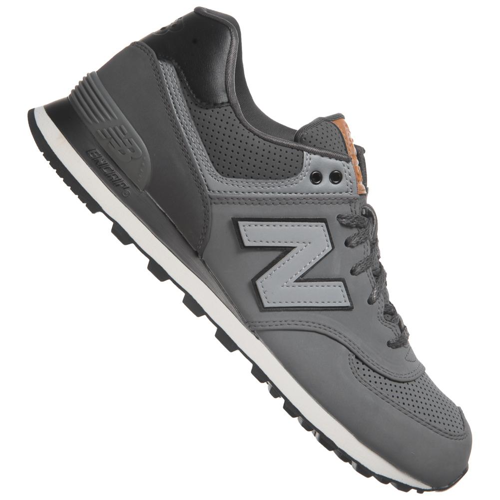 New-Balance-574-Cuir-Sneaker-Unisexe-Chaussures-Trend-Baskets-Femmes-Hommes-NB-NEUF