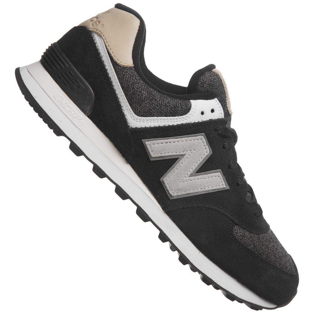 new balance 574 leder sneaker unisex schuhe trend sneakers. Black Bedroom Furniture Sets. Home Design Ideas