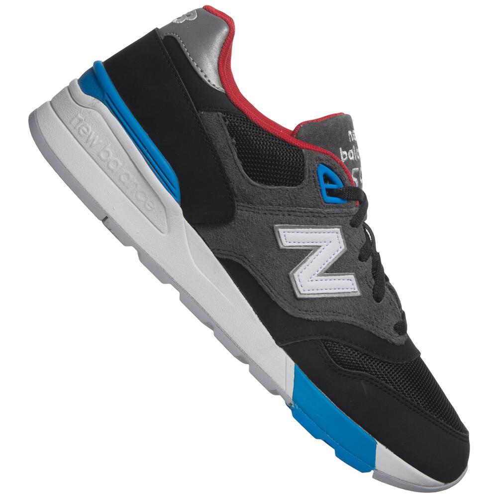 new balance 597 leder sneaker freizeit schuhe trend sneakers unisex nb neu ebay. Black Bedroom Furniture Sets. Home Design Ideas