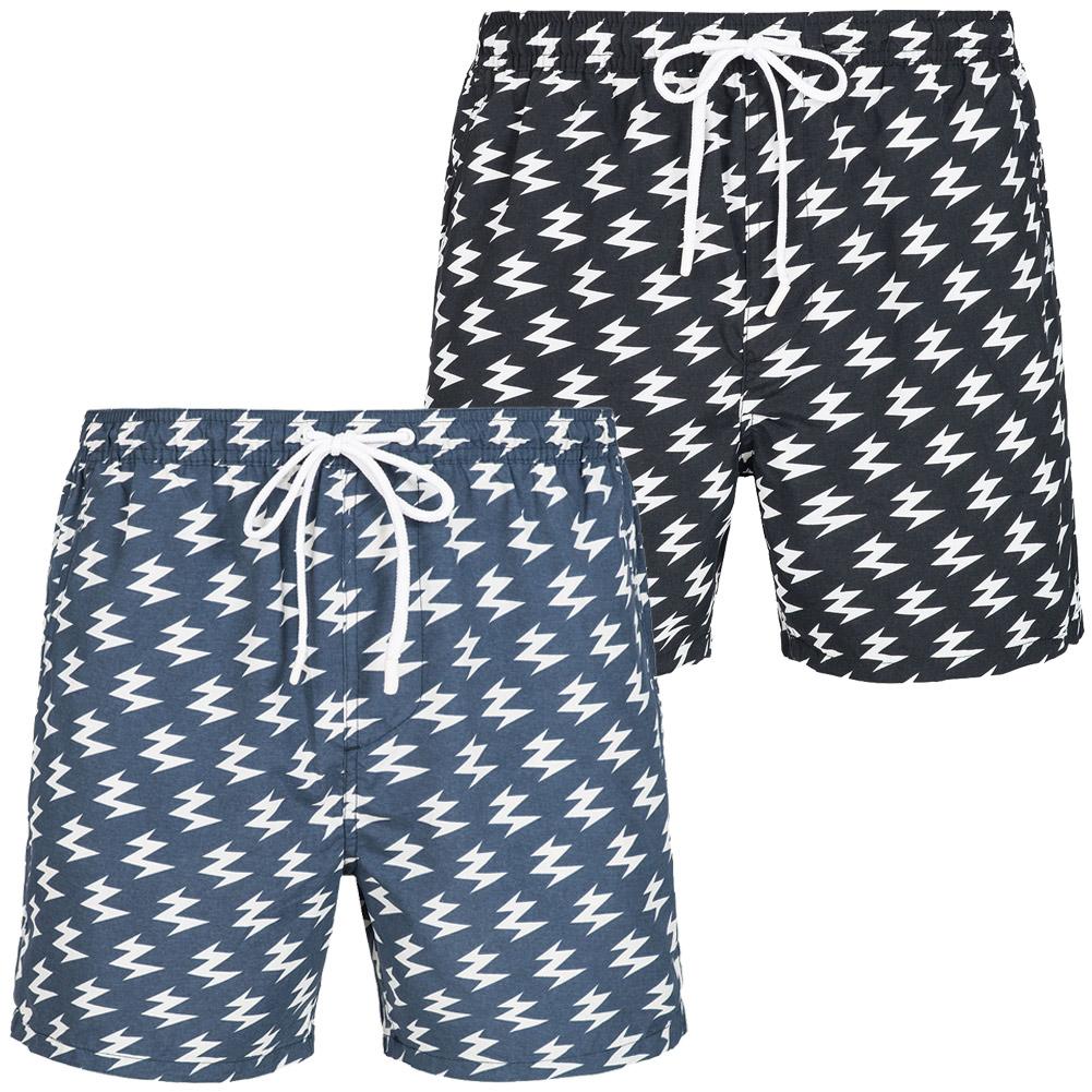 0c18781fb17d BRAVE SOUL Presley Herren Bade Board Shorts Badeshorts Short ...