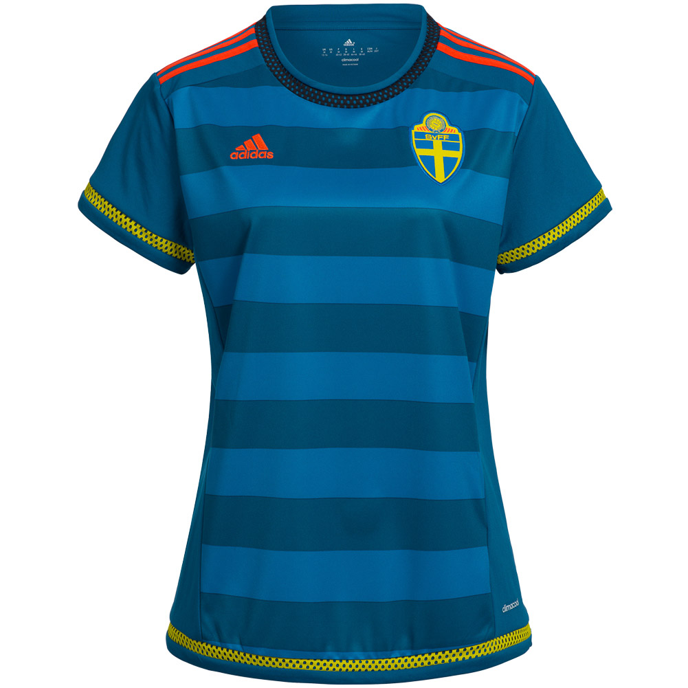 9b73d123994e Schweden adidas Damen Auswärts Heim Trikot Short Sport Frauen ...