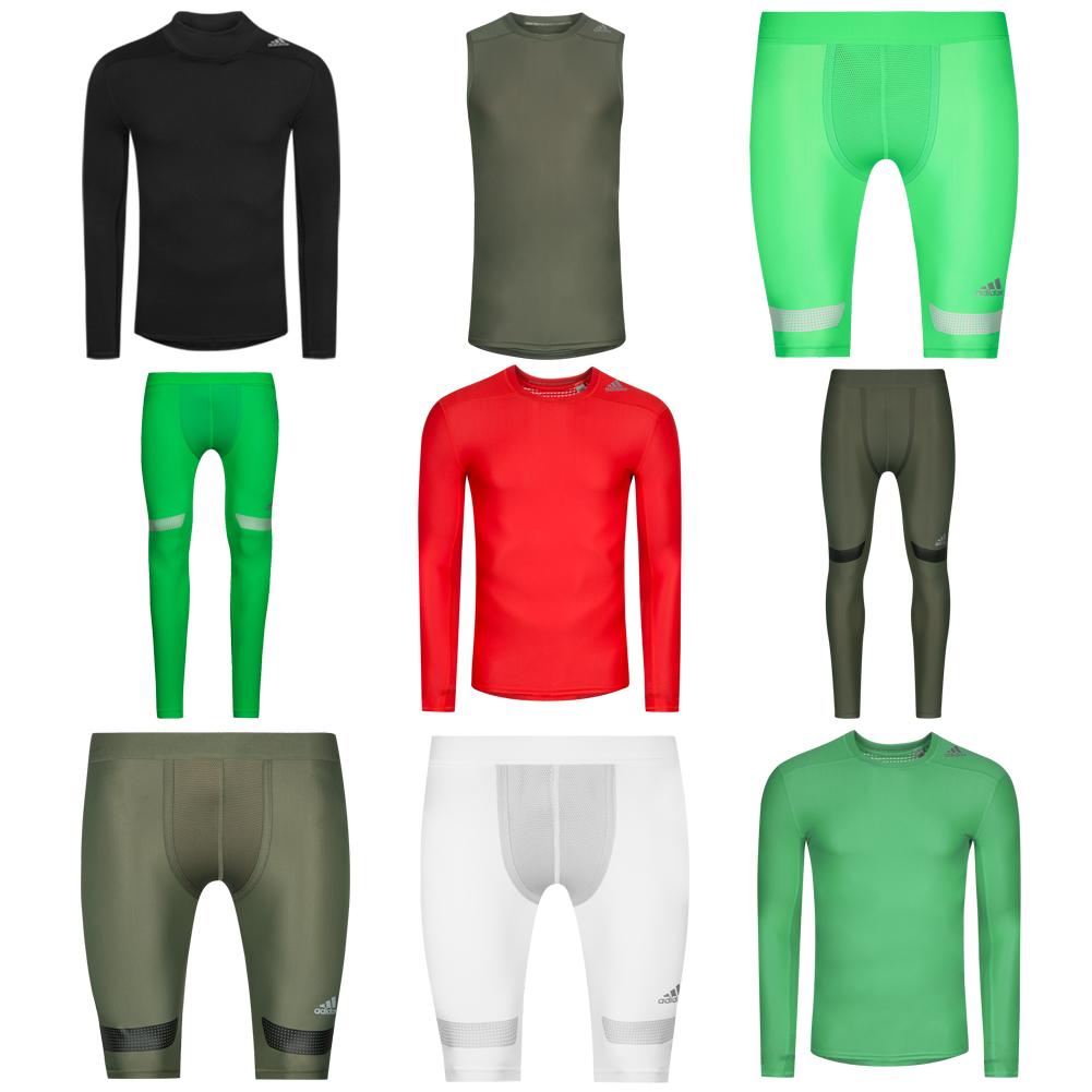 Details zu adidas Performance Techfit Chill Herren Baselayer Shirt Funktionshose Tights Top