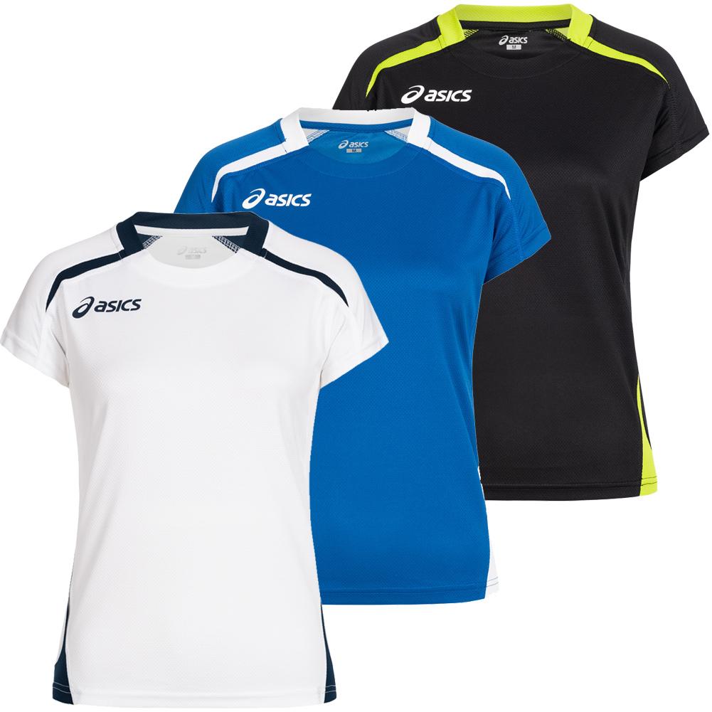ASICS Merlene Damen Volleyball Fitness Sport Trikot weiß