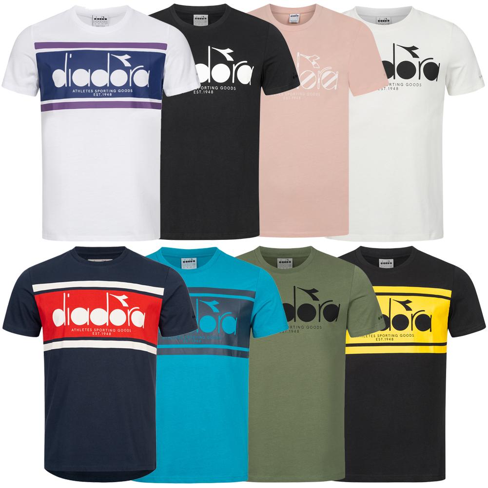 Diadora Events Tee Damen T-Shirt Sport Fitness Trainings Shirt 102.171213 neu