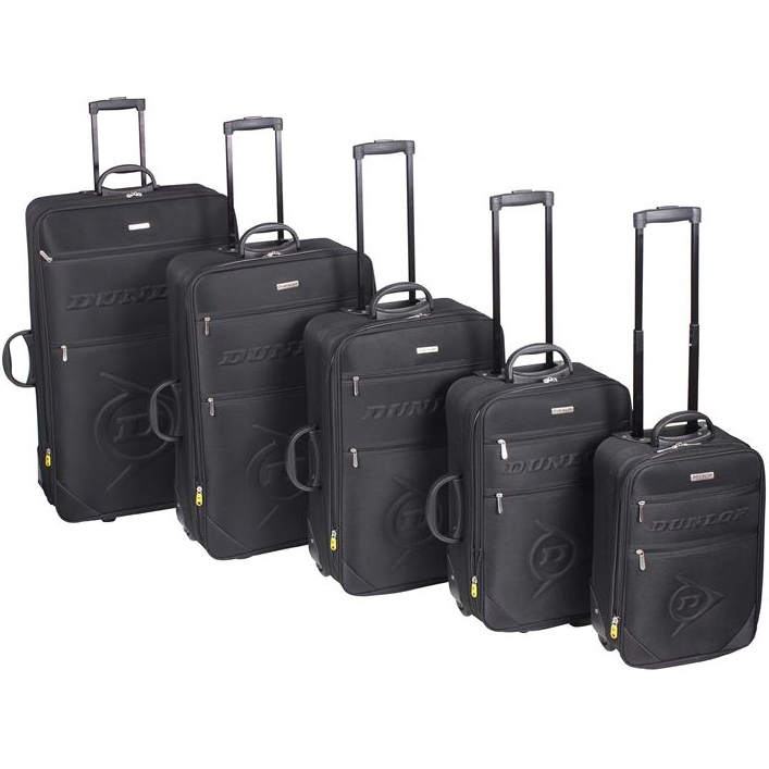 dunlop reisekoffer s m l xl 2xl kofferset trolley. Black Bedroom Furniture Sets. Home Design Ideas