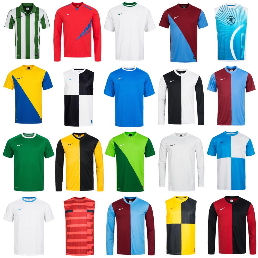 check out d566f 16bf6 Details zu Nike Sport Trikot Fußball Shirt Jersey Fitness Multisport XS S M  L XL 2XL neu