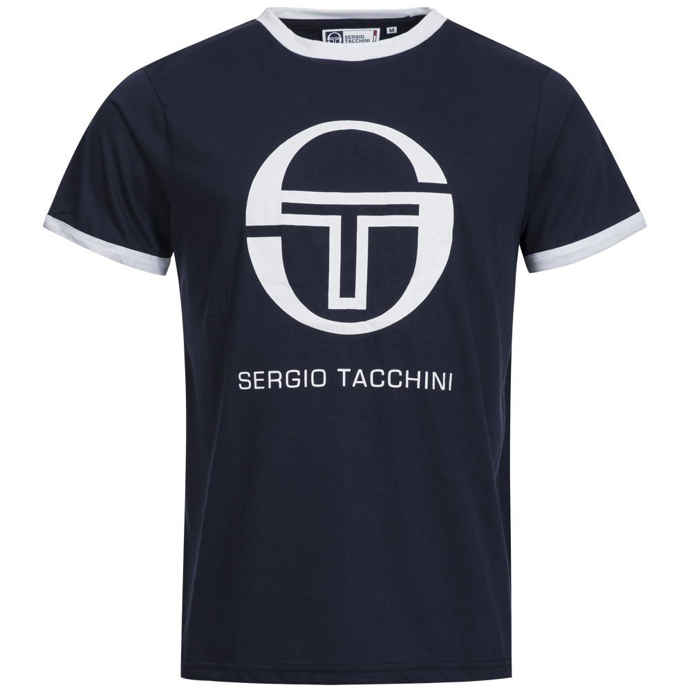sergio tacchini herren classic t shirt s m l xl 2xl sport. Black Bedroom Furniture Sets. Home Design Ideas