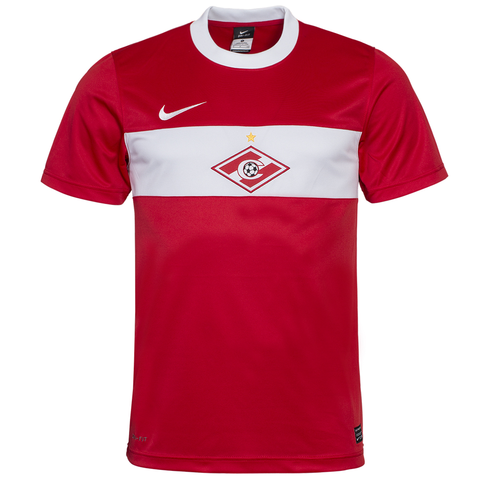 spartak moskau home jersey nike 405578 601 red jersey. Black Bedroom Furniture Sets. Home Design Ideas