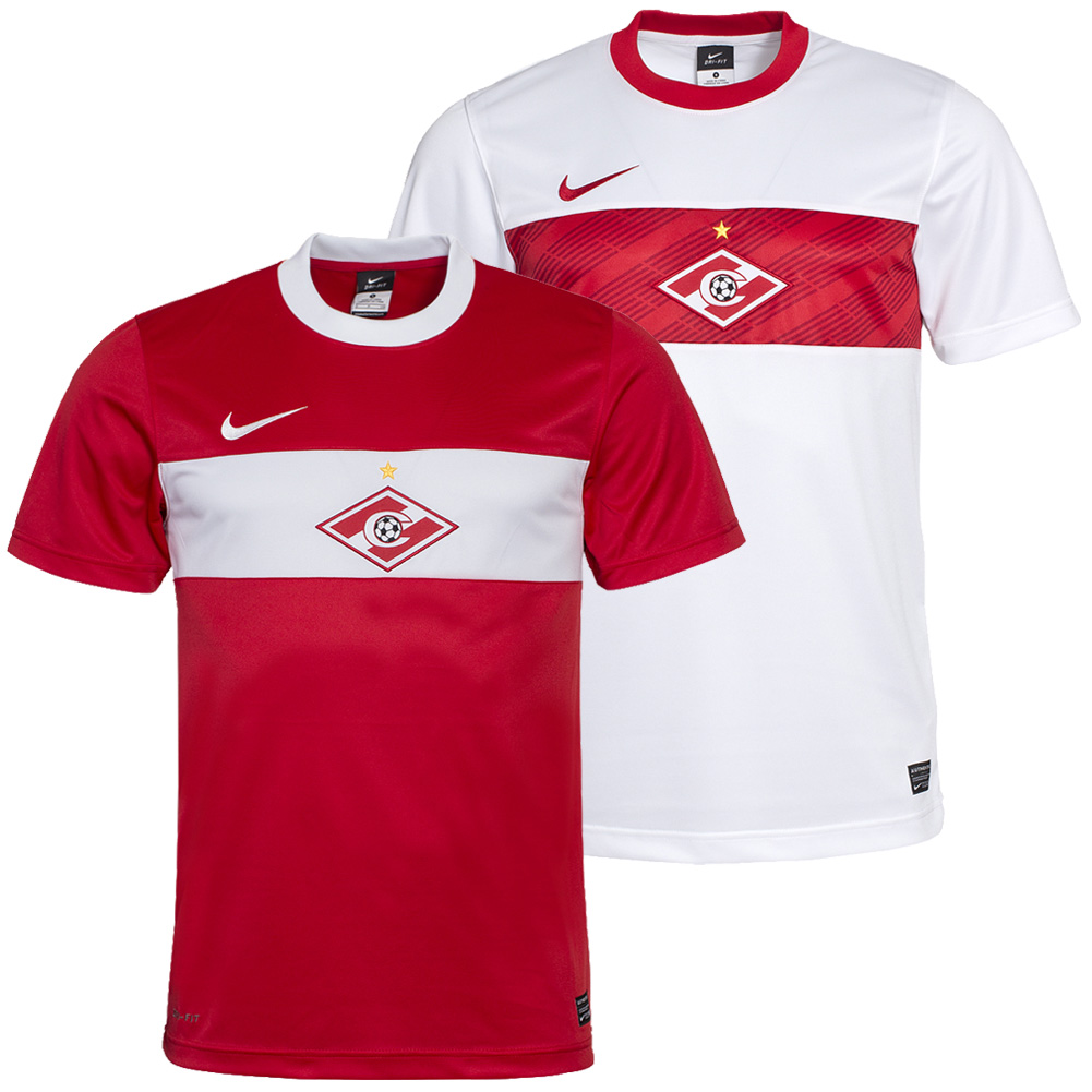 spartak moskau soccer jersey nike home away moscow. Black Bedroom Furniture Sets. Home Design Ideas