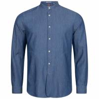 Hackett London HKT Indigo Twill Herren Hemd HM307524-000