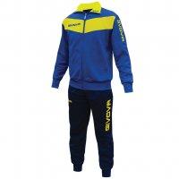 Givova Tuta Visa Trainingsanzug blau/gelb