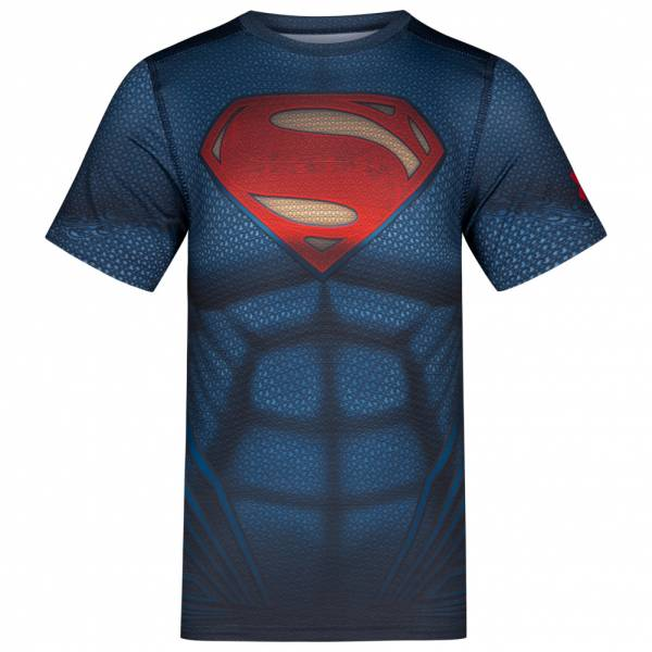 Under Armour Alter Superman Shirt Kinder Funktionsshirt 1275496-410
