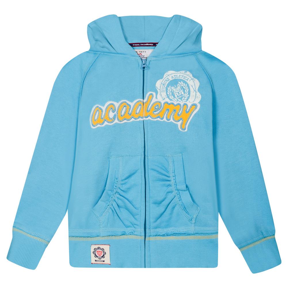 FILA Kinder Fleece Lined Full Zip Sweat Jacke U91493 451