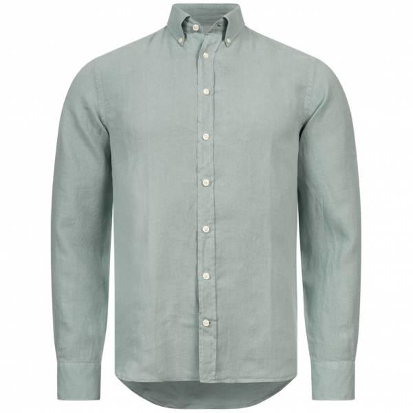 Hackett London Gmt Dyed Herren Leinen Hemd HM304763-774