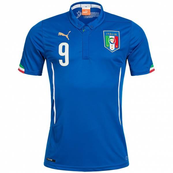 Italien PUMA Heim Trikot #9 Balotelli