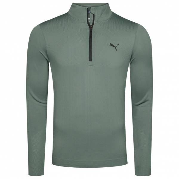 PUMA Golf Essentials Evoknit Herren 1/4-Zip Pullover 576122-06