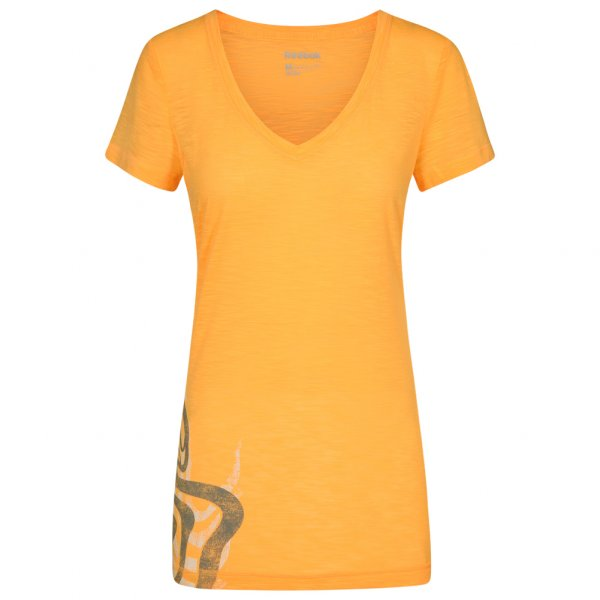 Reebok Own Moves Graphit Damen V-Neck Fitness Shirt Z64352