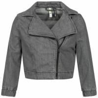 adidas NEO x Selena Gomez Women Denim Biker Jacket F78813