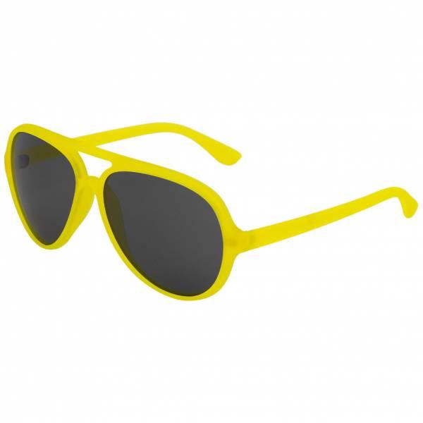 MSTRDS Aviator UV400 Piloten Sonnenbrille 10455 neon yellow