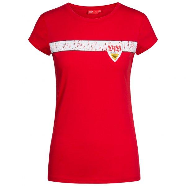 VfB Stuttgart PUMA Damen Graphic Fan T-Shirt 734792-17