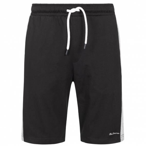 BEN SHERMAN Cut and Sew Herren Bermuda Shorts 0065222-BLACK