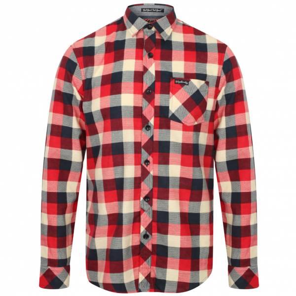 Tokyo Laundry Veracruz Cotton Flannel Herren Karo Hemd 1H10614 Red