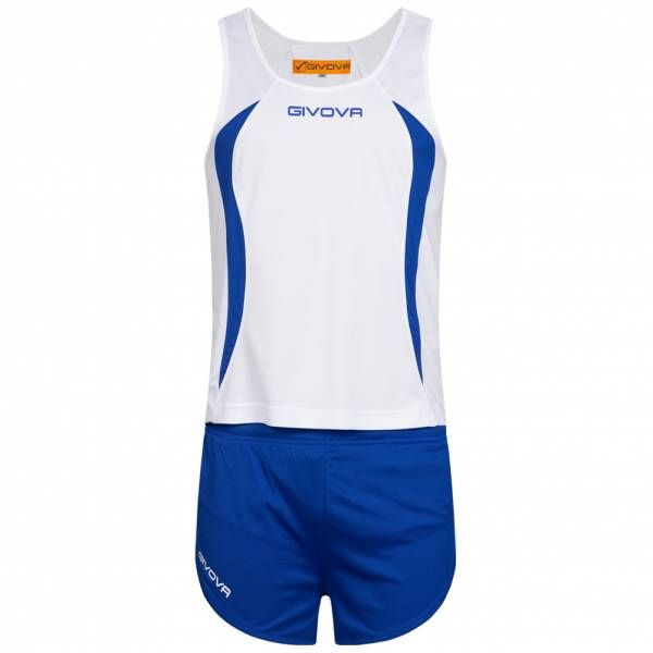 Givova Kit Boston Leichtathletik Set Singlet und Short KITA02-0302