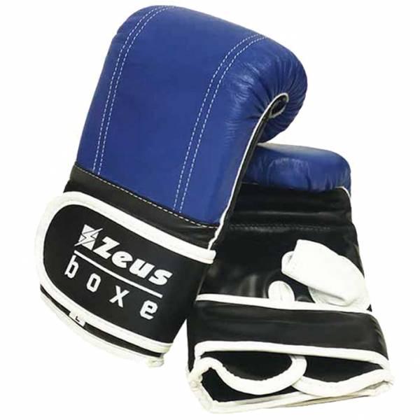 Zeus Guantes de boxeo para entrenamiento royal blue
