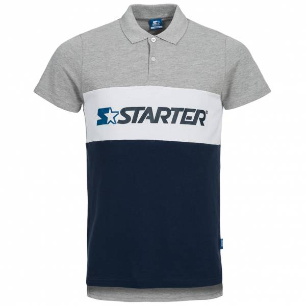 STARTER Men Polo Shirt pulses gray