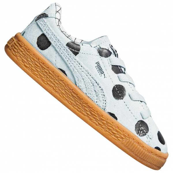 PUMA x tinycottons Basket Bambini Sneaker 365978-02