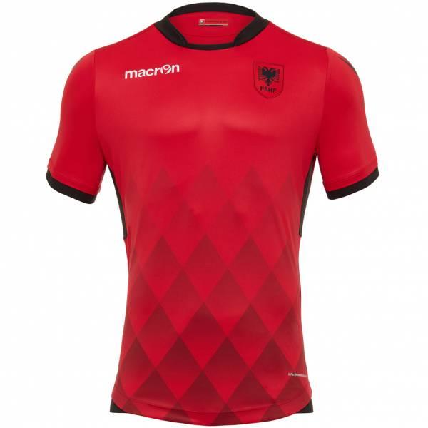 Albanien macron Herren Heim Trikot 58096360