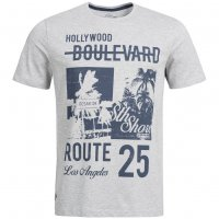 Sth. Shore Paradise City Herren T-Shirt 1C9450 Light Grey Marl