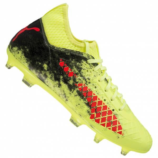 new style 6bdd0 df26e PUMA Future 18.3 Netfit FG   AG, chaussures de football pour hommes  104328-01 ...