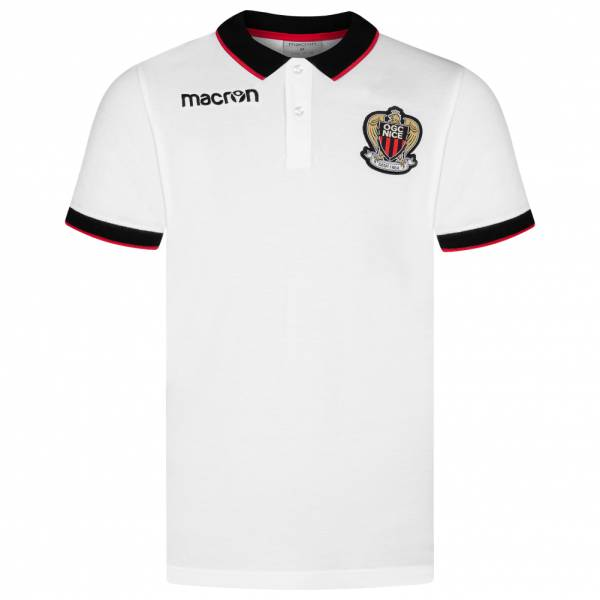 OGC Nizza macron Herren Freizeit Fan Polo-Shirt 58097228
