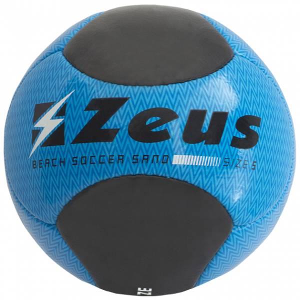 Zeus Beach Soccer Fußball Schwarz Blau