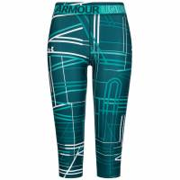 Under Armour HeatGear Mädchen Capri Leggings 1305645-716
