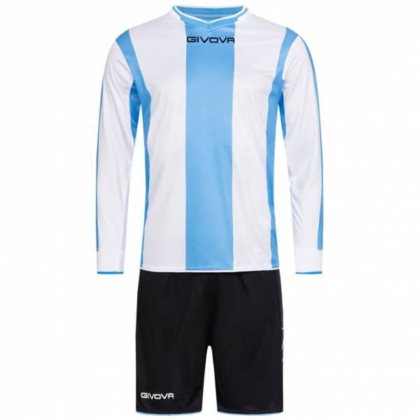 Givova Kit Line Fußball Set Langarm Trikot + Short KITC27-0503